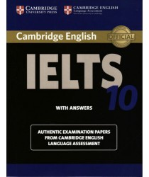 Cambridge IELTS 10 ESOL Official Examination Papers with Answers @New@BOOK ONLY