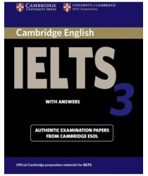 Cambridge IELTS 3 ESOL Official Examination Papers with Answers @New@BOOK ONLY