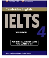 Cambridge IELTS 4 ESOL Official Examination Papers with Answers @New@BOOK ONLY