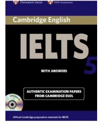 Cambridge IELTS 5 ESOL Official Examination Papers with Answers @New@BOOK ONLY