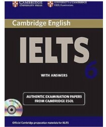 Cambridge IELTS 6 ESOL Official Examination Papers with Answers @New@BOOK ONLY