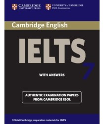 Cambridge IELTS 7 ESOL Official Examination Papers with Answers @New@BOOK ONLY