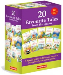 20 Favourite Tales from the Quran 10 Hard Bound Books
