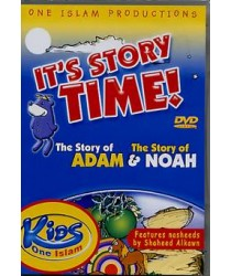 It's Story Time with Zaky. The Story of Adam and Noah (DVD)