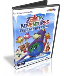 Zaky's Adventures: The Earth has a fever DVD