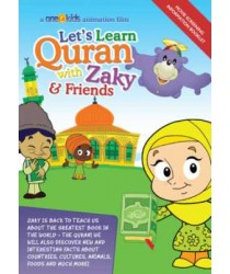 This item is also available as part of a Money-Saving Package   Click here for other title from this author/orator   Lets Learn Quran with Zaky & Friends (DVD) Zaky