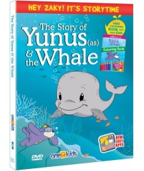 The Story of Yunus (as) & the Whale with Zaky (DVD). Includes FREE Colouring Book Zaky