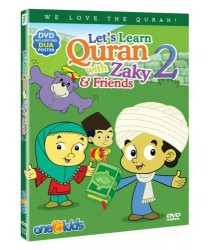 Lets Learn Quran with Zaky & Friends 2 (DVD) Zaky