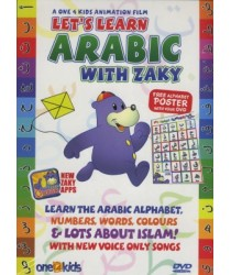 This item is also available as part of a Money-Saving Package   Click here for other title from this author/orator   Lets Learn Arabic with Zaky (DVD). Includes FREE alphabet poster. Zaky