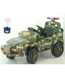 Military Jeep 6v with remote control