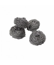 89% of buyers loved this product! 4 x Tough Handy Stainless Steel Super Fine Scourers 4899 (Parcel Rate)