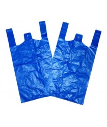1000 Pack Disposable Plastic Bags In Blue BR2 (Parcel Rate)