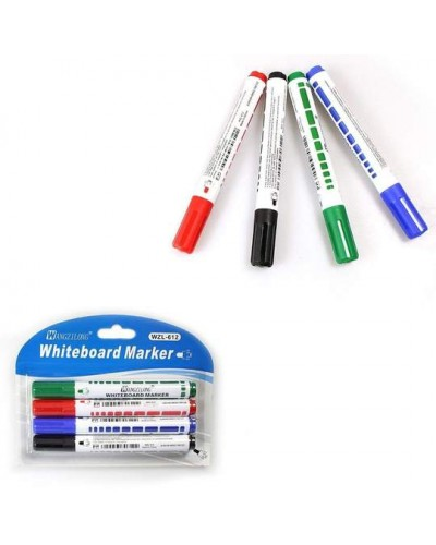 4 Whiteboard Markers Art & Craft Stationery Home 1735 (Parcel Rate)
