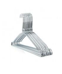 10 Pack Standard Steel Clothing Hangers 40cm 0711 (Parcel Rate)