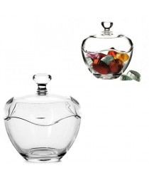 1 Piece Toscana Fancy Glass Candy Bowl In Gift Box 14.5cm x 13cm 98775 (Parcel Rate)