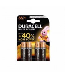 1 Pack Of 4 Duracell AA Batteries MN1500 / LR6 Long Lasting High Power Battery 7695 (Large Letter Rate)