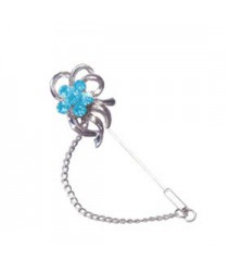AQUA CUTWORK Hijab Pin