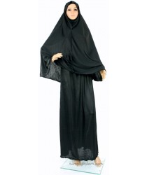 Womens Black Hajj ehram / Ihram/ ahram / Prayer Outfit